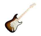 Fender American Deluxe Stratocaster Electric Guitar 3 Colour Sunburst Maple Fretboard