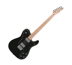 Fender Squier Vintage Modified Telecaster Custom Electric Guitar Black Maple Fretboard