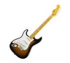 Fender Squier Left Handed Classic Vibe 50's Stratocaster Electric Guitar 2 Colour Sunburst Maple Fretboard