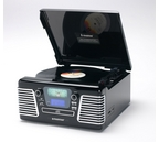Steepletone Roxy 3CD Encode 60's Style 3 Speed USB/SD Record Player with MW/FM Radio