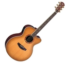Ex Display Yamaha CPX15EII Electro Acoustic Guitar East Sandburst Finish