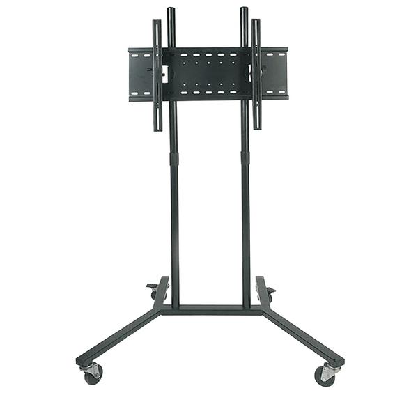 heavy duty lcd plasma tv screen trolley stand mount ebay. Black Bedroom Furniture Sets. Home Design Ideas